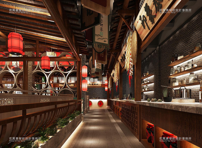 山东齐鲁印象主题餐饮空间设计