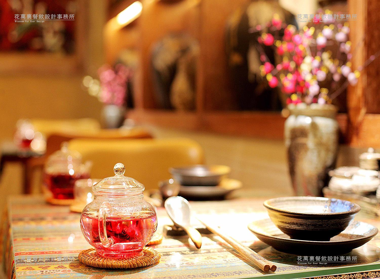 青海过桥仙居餐饮空间设计案例赏析